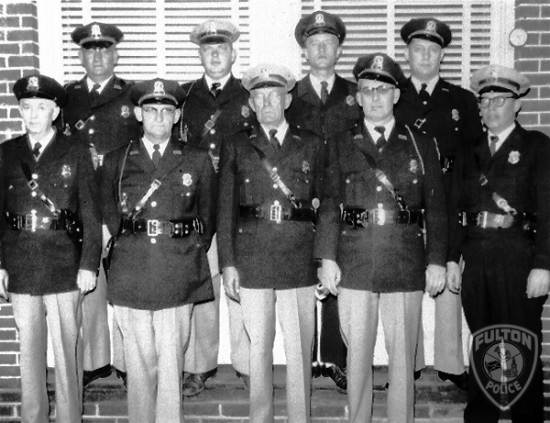 City of Fulton Police Department during the 1950\'s.