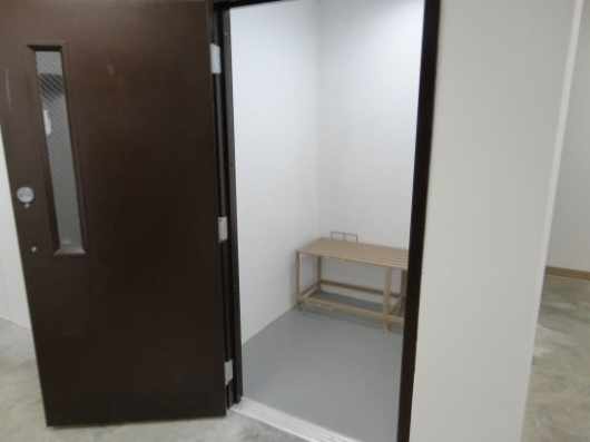 Holding Cell interior