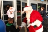 Santa Welcomes Kids at Walmart