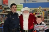 Officer Billy Kamp with Santa